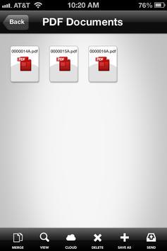 AmbirScan Mobile V1.2 screenshot 1