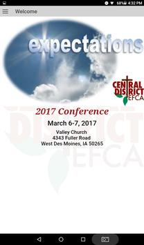 EFCA Central District 2017 screenshot 5