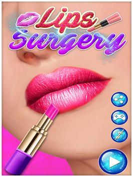 Lips Surgery Plastic Simulator-Makeover Saloon SPA screenshot 4
