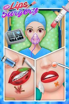 Lips Surgery Plastic Simulator-Makeover Saloon SPA screenshot 2