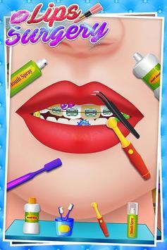 Lips Surgery Plastic Simulator-Makeover Saloon SPA screenshot 3