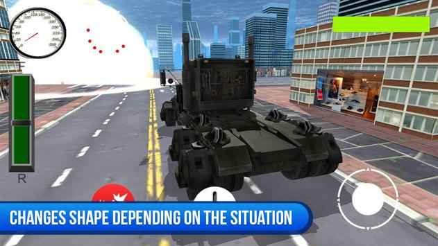 Robocar Flying Simulator 스크린샷 1