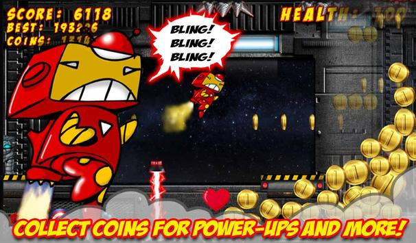 Superhero Jetpack Robot Game apk screenshot