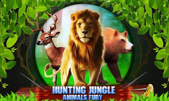 hunting Jungle Animals Fury poster
