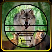 Hunting Jungle Animals icon