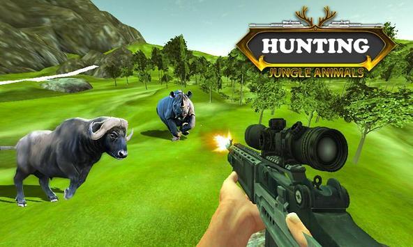 Caza animales de la selva captura de pantalla 1