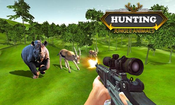Caza animales de la selva captura de pantalla 2