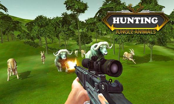 Caza animales de la selva captura de pantalla 5