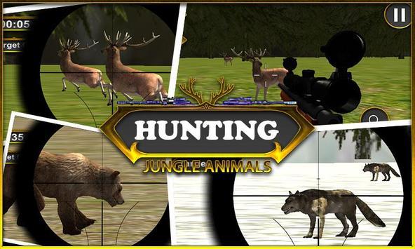 Caza animales de la selva captura de pantalla 6