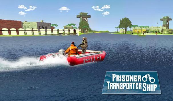Prisoner Transporter Ship apk screenshot