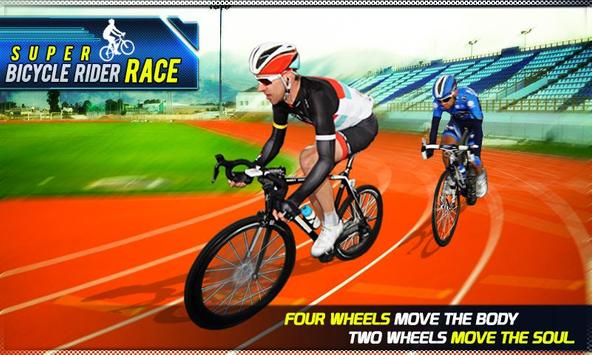 Super Bicycle Rider Race poster
