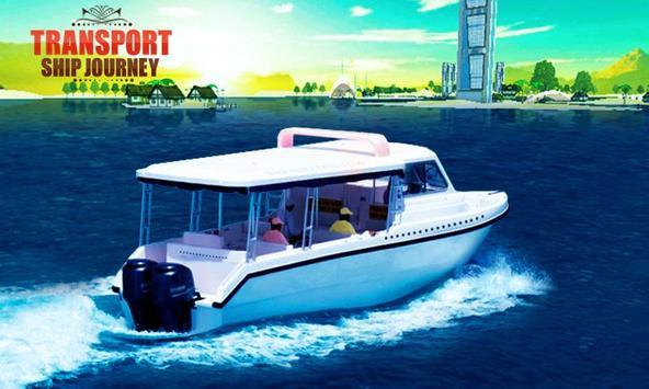 Transport Ship Journey poster