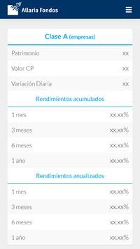 Allaria Fondos screenshot 2