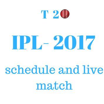 IPL 2017 Schedule screenshot 1
