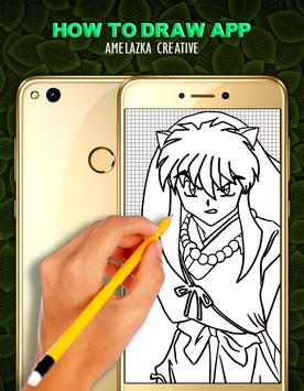 How to Draw Inuyasha - EASY apk screenshot