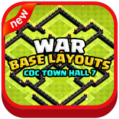 War Base Layouts for COC TH7 icon