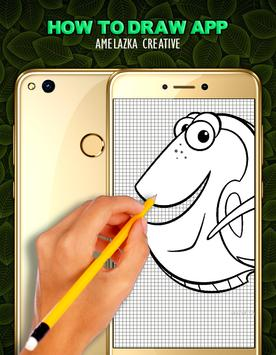 How To Draw NEMO - Easy apk screenshot