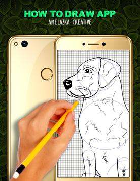 How to draw a Dog step by step screenshot 3