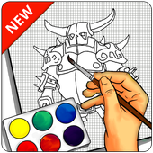 Learn to draw Clans Characters icon