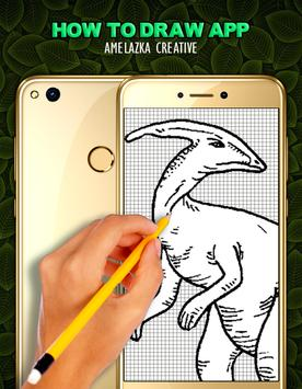 Learn to draw Dinosaurs screenshot 1
