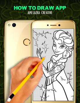 How To Draw Frozen poster