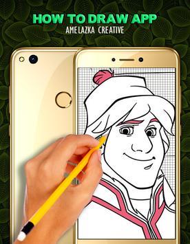 How To Draw Frozen screenshot 2