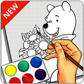 How To Draw Pooh - Easy icon