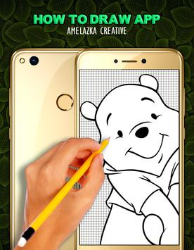How To Draw Pooh - Easy poster