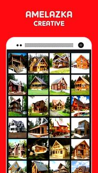 DIY wooden house design 2017 apk screenshot