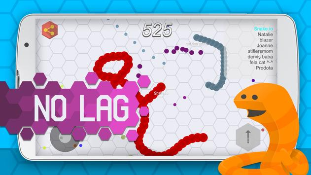 Snake.io apk screenshot
