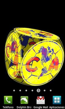 3D Club América Fondo Animado poster