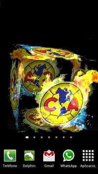 3D Club América Fondo Animado captura de pantalla 1