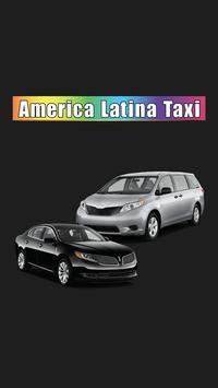 America Latina Taxi poster