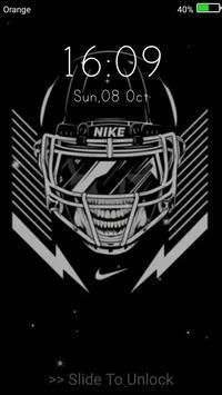 American Football Live Wallpaper Lock Screen Apk Screenshot