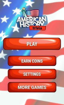 American History Trivia Game poster