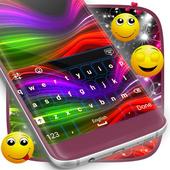 Neon Multicolor Keyboard Theme icon