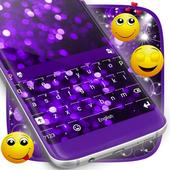Christmas Purple Lights Theme icon