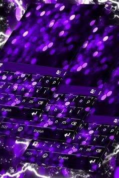 Christmas Purple Lights Theme poster