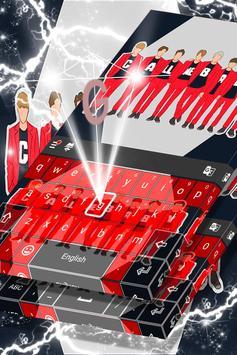 Exo Fans Keyboard Theme screenshot 3