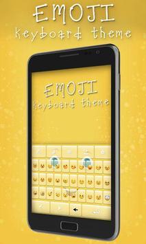 Emoji Keyboard Theme poster