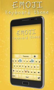 Emoji Keyboard Theme apk screenshot