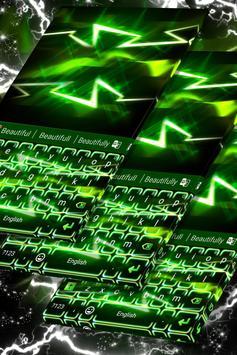 Flash Dark Keyboard poster