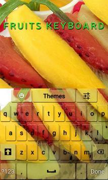 Fruits Keyboard poster