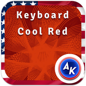 Keyboard Cool Red icon