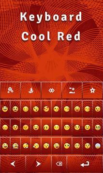 Keyboard Cool Red screenshot 1