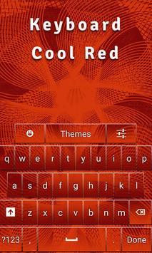 Keyboard Cool Red screenshot 2