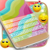 Multicolor Theme for Keyboard icon
