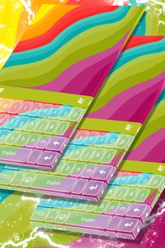 Multicolor Theme for Keyboard poster
