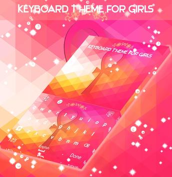 Keyboard Theme for Girls screenshot 3
