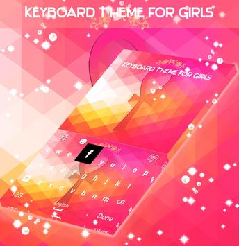 Keyboard Theme for Girls apk screenshot